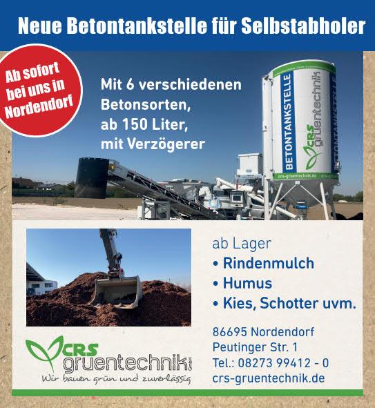 Neue Betontankstelle in Nordendorf